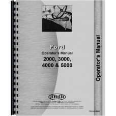 Ford 3190 Tractor Operators Manual (1968-1975) (3 Cyl)