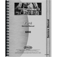 Ford 6000 Tractor Service Manual