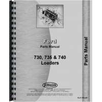Ford 5550 Industrial Loader Attachment Parts Manual