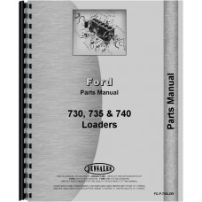Ford 4400 Industrial Loader Attachment Parts Manual