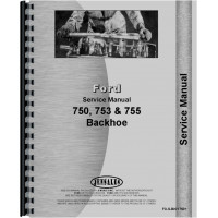 Ford 750 Backhoe Attachment Service Manual