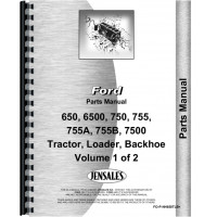 Ford 755 Tractor Loader Backhoe Parts Manual