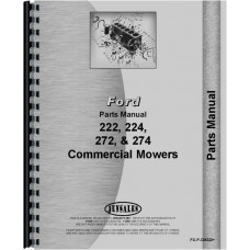 Ford CM272 Commercial Mower Parts Manual