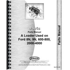 Ford 600 Davis A1 Loader Attachment Parts Manual (Attachment)