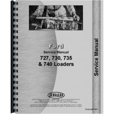 Ford 4400 Industrial Loader Attachment Service Manual
