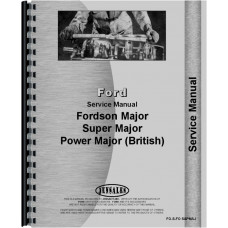 Ford Power Major Tractor Service Manual (1958-1961)