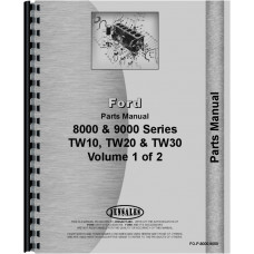 Ford 8400 Tractor Parts Manual