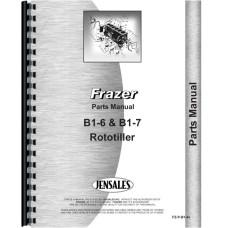 Frazer B1-6, B1-7 Roto-Tiller Parts Manual