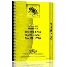 Galion Grader Parts Manual