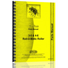 Galion 3-5, 4-6 Roll-O-Matic Roller Parts Manual
