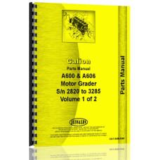 Galion A-606 Grader Parts Manual