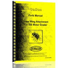 Galion 160 Grader Attachment Parts Manual