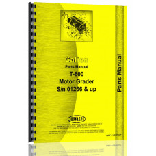 Galion T-600 Grader Parts Manual (SN# 01266 and Up)