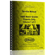 Galion A-606 Grader Service Manual