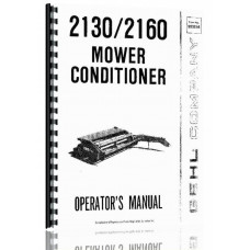 Gehl 2130 Mower Conditioner Operators Manual