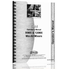 Gehl 120MX Grinder Mixer Operators Manual