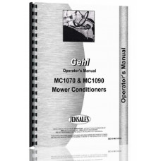 Gehl MC1090 Mower Conditioner Operators Manual