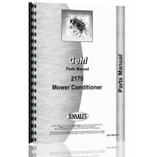 Gehl MC2175 Mower Conditioner Parts Manual