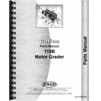 Galion 118B Grader Parts Manual