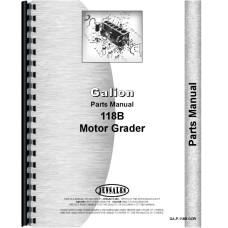 Galion 118B Grader Parts Manual