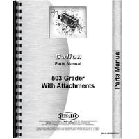 Galion 503 Grader Parts Manual