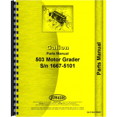 Galion 503 grader Parts Manual (Gas and Diesel)