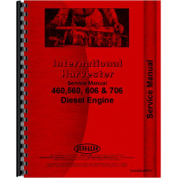 International Harvester 460 Tractor Engine Service Manual