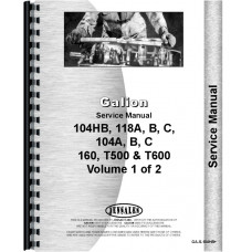 Galion 104C Grader Service Manual (Chassis)