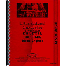 Galion T-500A Engine Service Manual (SN# 0-2600) (Diesel)