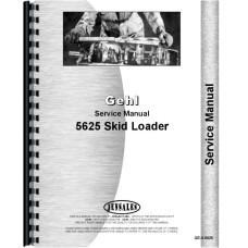 Gehl 5625 Skid Steer Loader Service Manual (SN# 8868 and Up)