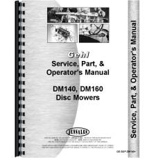 Gehl DM140 Disc Mower  Service Manual