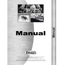 Ford S-41 Cultivator Operators Manual