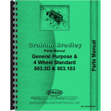 Graham Bradley Tractor Parts Manual