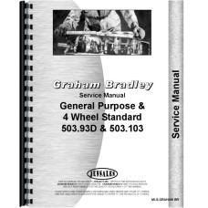 Graham Bradley Tractor Service Manual