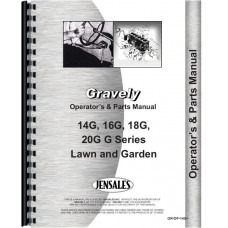 Gravely 14G Lawn & Garden Tractor Operators & Parts Manual