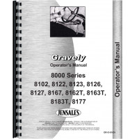 Gravely 8183T Lawn & Garden Tractor Operators Manual