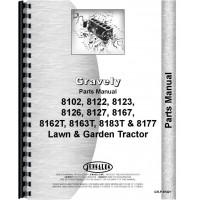 Gravely 8167 Lawn & Garden Tractor Parts Manual