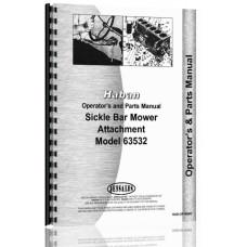 Haban 4' & 5' Sickle Bar Mower Attachment Operators & Parts Manual