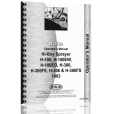 Hahn H-180EO Tractor Operators Manual (1963)
