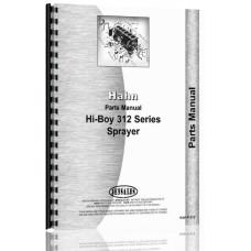 Hahn 312 Tractor Parts Manual