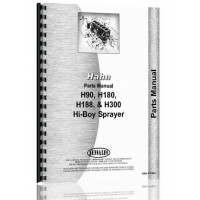 Hahn H-180 Tractor Parts Manual (1961-1963) (1961)