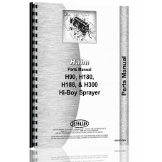 Hahn H-180E Tractor Parts Manual (1961-1963)