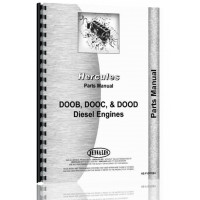 Hercules Engines DOOD Engine Parts Manual