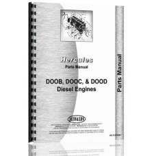 Hercules Engines DOOB Engine Parts Manual