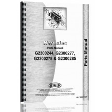 Hercules Engines G2300X244 Engine Parts Manual