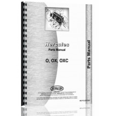 Hercules Engines OXC Engine Parts Manual