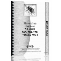 Hercules Engines YXC-3 Engine Parts Manual