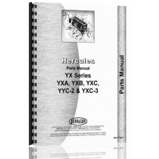 Hercules Engines Engine Parts Manual (HE-P-YXA+)
