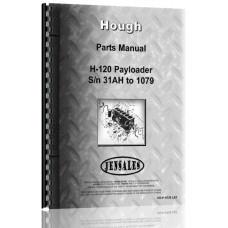 Hough H-120 Pay Loader Parts Manual (SN# 31AH-1079 and Up)