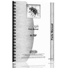 Hough H-70F Pay Loader Parts Manual